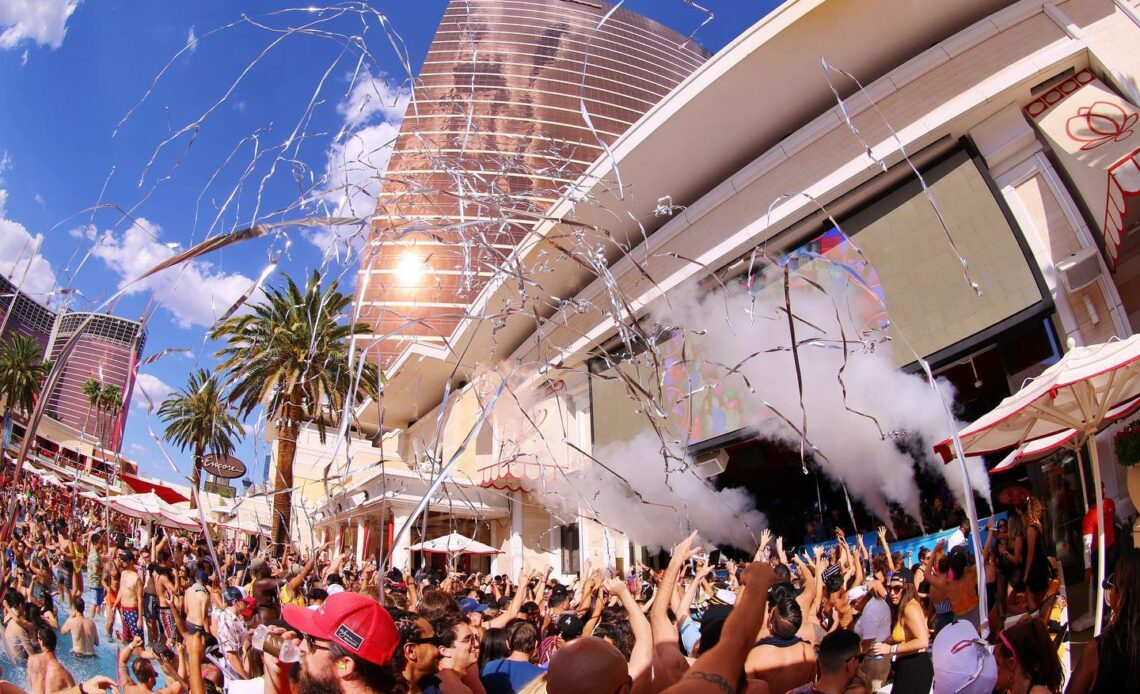 Encore Beach Club no hotel Wynn Encore 1